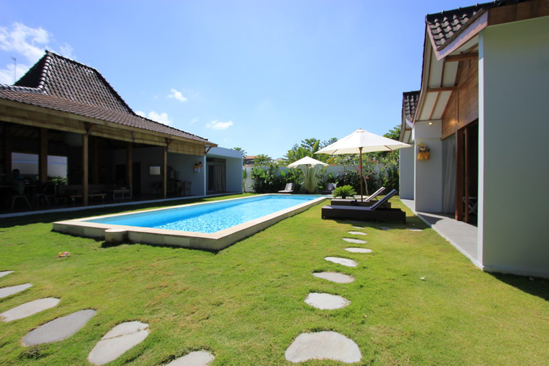 The Villa View During The Day