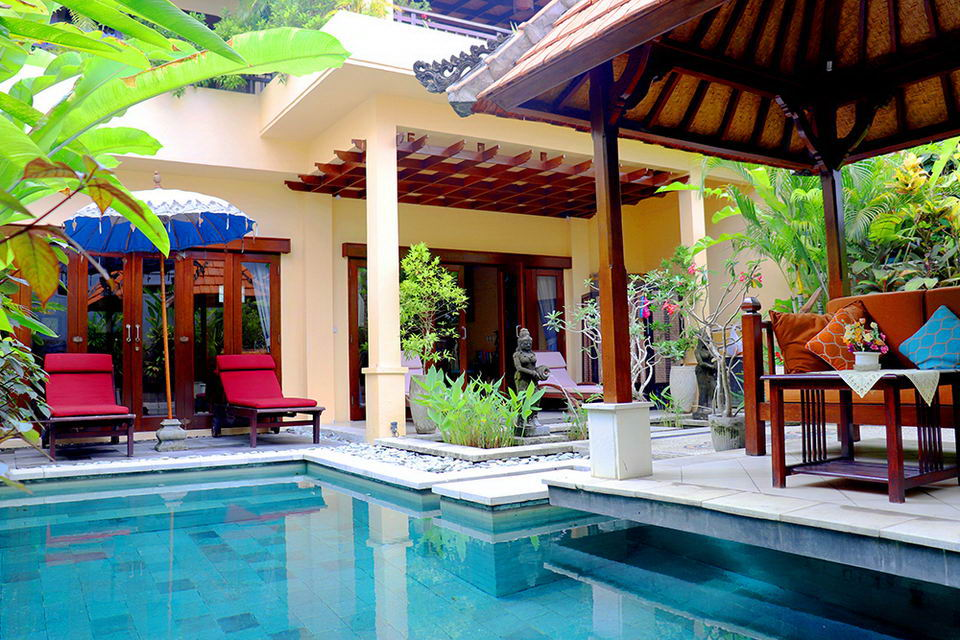 2 Bedroom Pool Villa Near Eat Street In Seminyak
