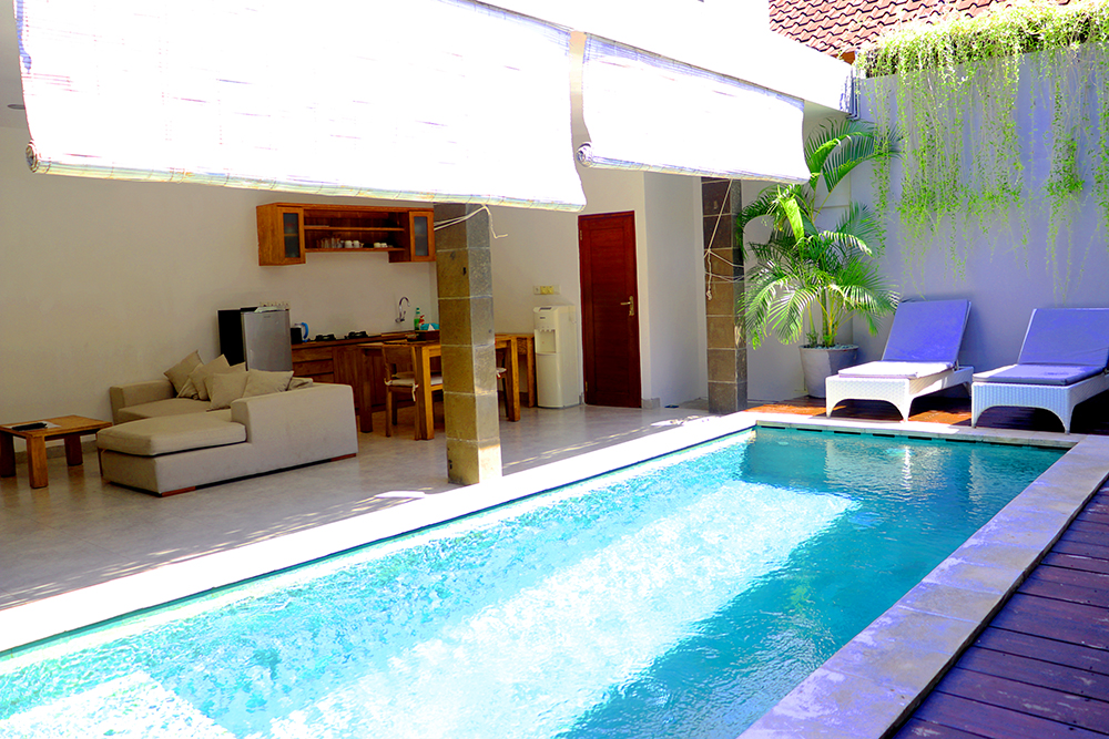 2 Bedroom Pool Villa Close to Seminyak Eat Street