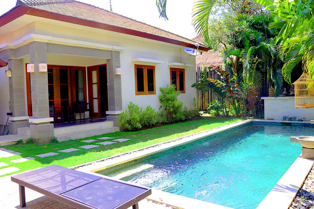 Homey 2 Bedroom Villa with Private Pool in Sanur